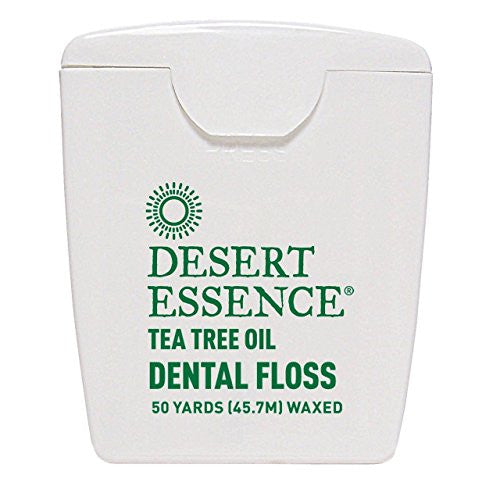 (10 PACK) - Desert Essence - Tea Tree Dental Floss 6 | 1unit | 10 PACK BUNDLE