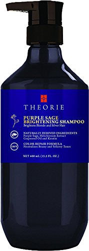 Theorie Purple Sage Brightening Shampoo, 13.5 fl.oz
