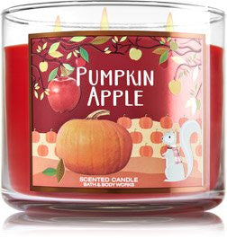 Bath & Body Works 3-Wick Candle Pumpkin Apple