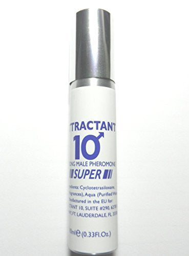 Attractant 10 Pheromone Spray for Men Attracts Women Instantly - This is the original Attractant 10 formula that is now only sold in this new pheromone spray container.