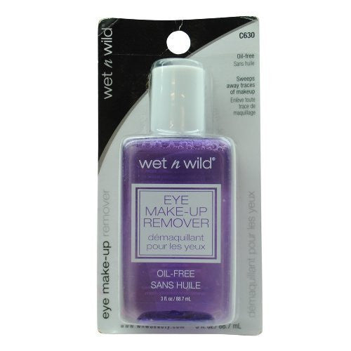 Wet n wild eye make-up remover C630 oil free 3 oz