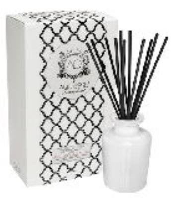 CORAL MUSK Reed Diffuser White Currants Gift Boxed by Aquiesse
