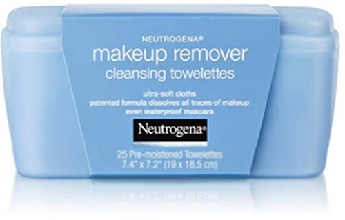 Neutrogena Make-Up Remover Cleansing Towelettes 25 Each (Pack of 7)