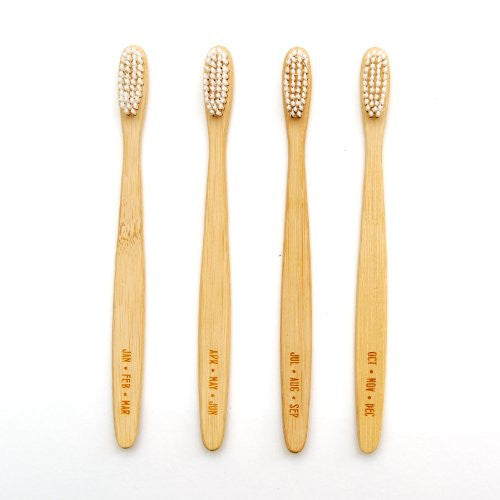 Izola 801 Months Toothbrushes, Set of 4