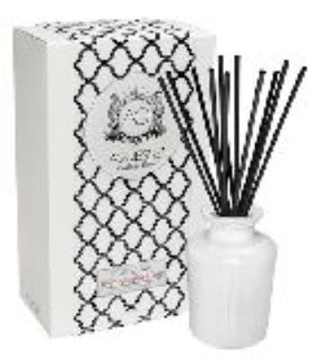 CURRANT and ROSE Reed Diffuser White Currants Gift Boxed by Aquiesse