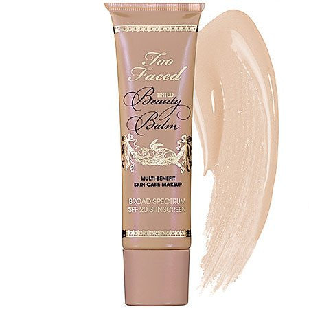 Too Faced Tinted Beauty Balm Multi Benefit Skin Care Makeup, Vanilla Glow, 1.5 Fluid Ounce
