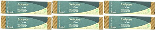 (6 PACK) - Himalaya Herbal Healthcare - Neem & Pomegranate Toothpaste | 150g | 6 PACK BUNDLE