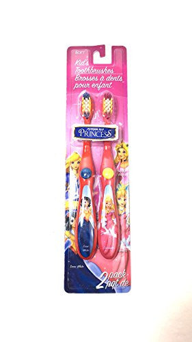 Junior Elf Fairy Tale Princess Twin Pack Toothbrushes ( Snow White,Cinderella)