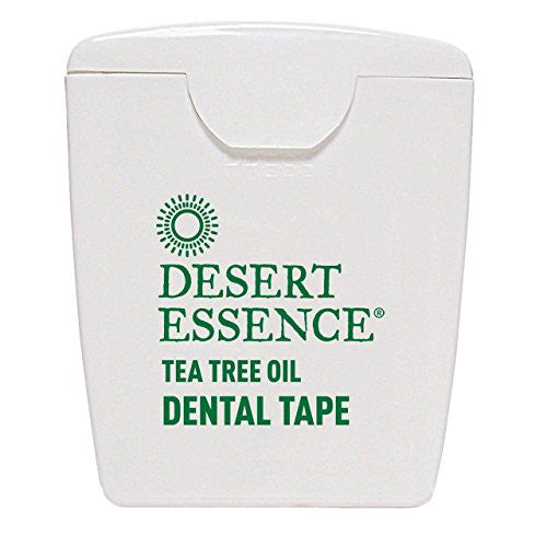 (12 PACK) - Desert Essence - Tea Tree Oil Dental Tape 6 | 1unit | 12 PACK BUNDLE