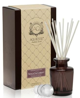 FRENCH OAK CURRANT AQUIESSE Reed Diffuser Portfolio Collection Gift Boxed