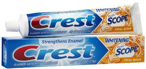 Dr. Fresh Travel Kit: Crest or Colgate Toothpaste&Toothbrush & Cover assorted colors