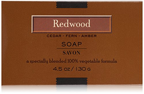 LAFCO Bar Soap, Redwood, 4.5 Oz