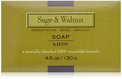 LAFCO Bar Soap, Sage & Walnut, 4.5 Oz