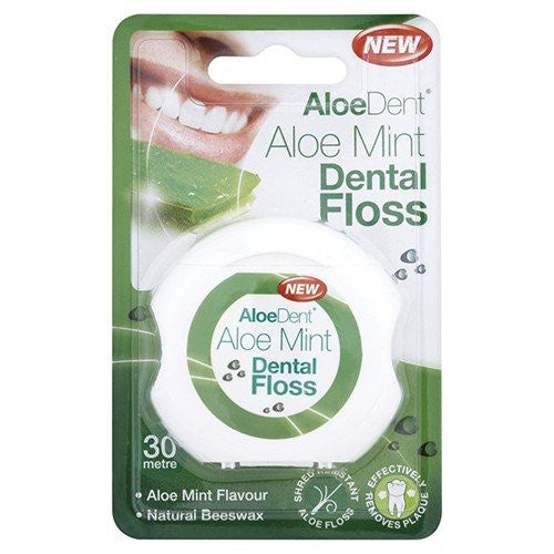 (3 PACK) - Aloe Dent - Aloe Vera Dental Floss | 1pack | 3 PACK BUNDLE