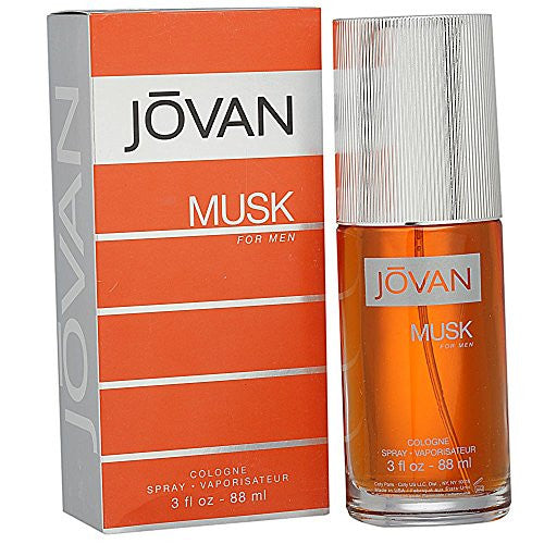 Jovan Musk By Jovan For Men, Cologne Spray, 3-Ounce Bottle