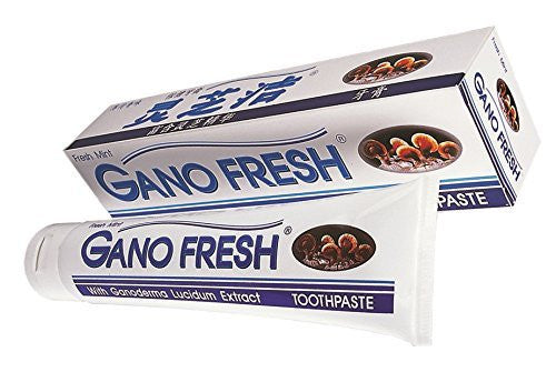 2 Boxes Gano Fresh Toothphaste with Ganoderma Lucidum Extract by Gano Excel
