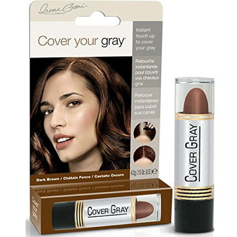 Claudia stevens root touch up hair color brown blonde esbelle beauty cover your gray for women touch up stick dark brown 015 oz pack of 2 1654 claudia stevens root touch up hair pmusecretfo Choice Image
