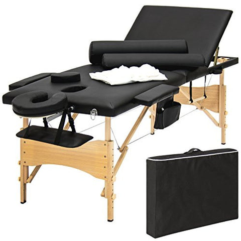 Master Massage Deluxe Shelf Style Arm Rest, Black