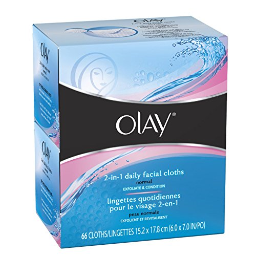 4-in-1 Daily Facial Cloths ? Normal 33 Count [Olay 2-in-1 Daily Facials Normal 264 Count