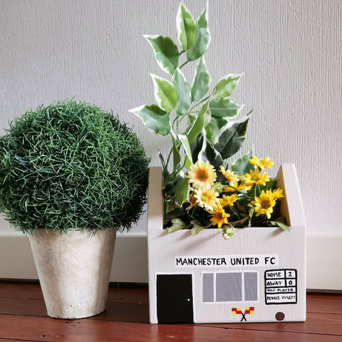 Personalised Football Club Mini Planter - Lindleywood