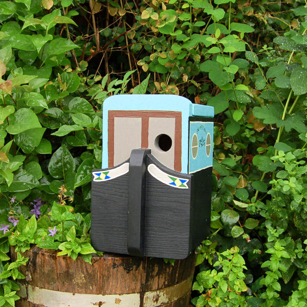 Personalised Narrowboat Canal Boat Bird Box - Lindleywood