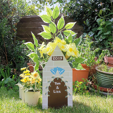 Personalised Anniversary Plant Holder - Lindleywood