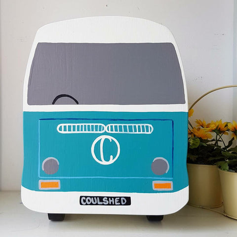Personalised Bay Campervan Keepsake Box - Lindleywood