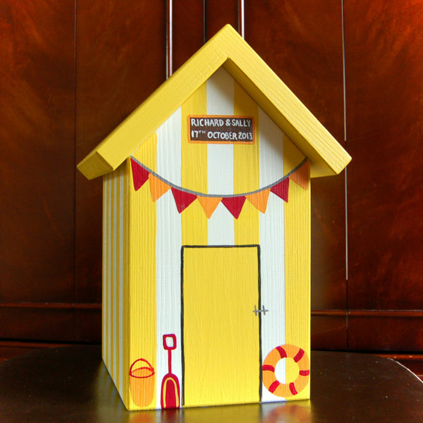 Personalised Beach Hut Keepsake Box - Lindleywood