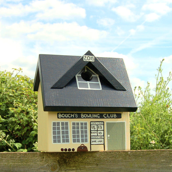 Personalised Bowls Club Bird Box - Lindleywood