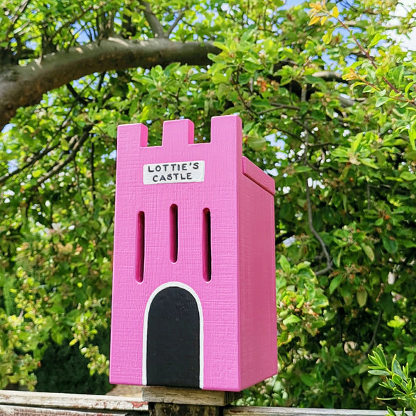 Personalised Castle Butterfly House - Lindleywood