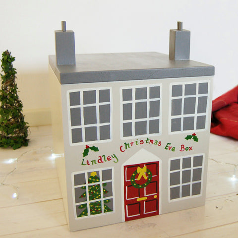 Georgian House Wooden Christmas Eve Box