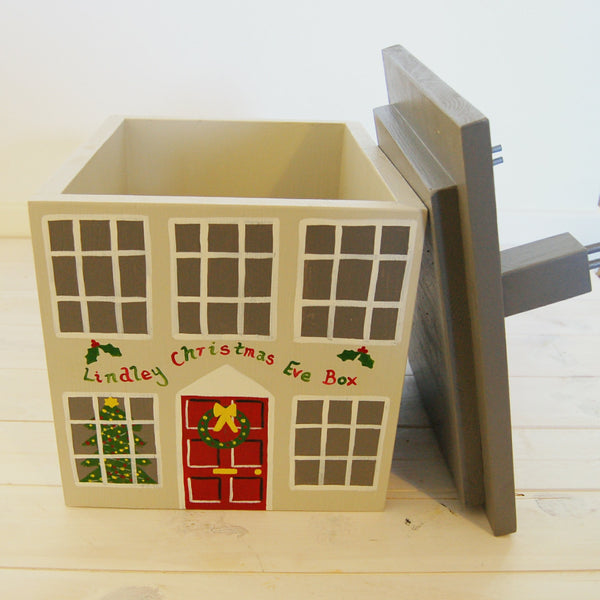 Georgian House Wooden Christmas Eve Box - Lindleywood