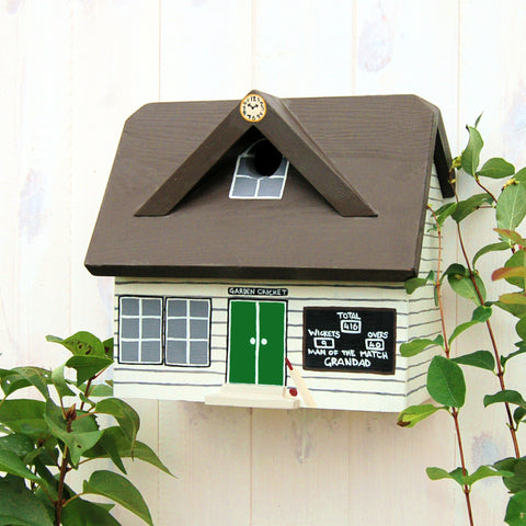 Cricket Bird Box - Green Door