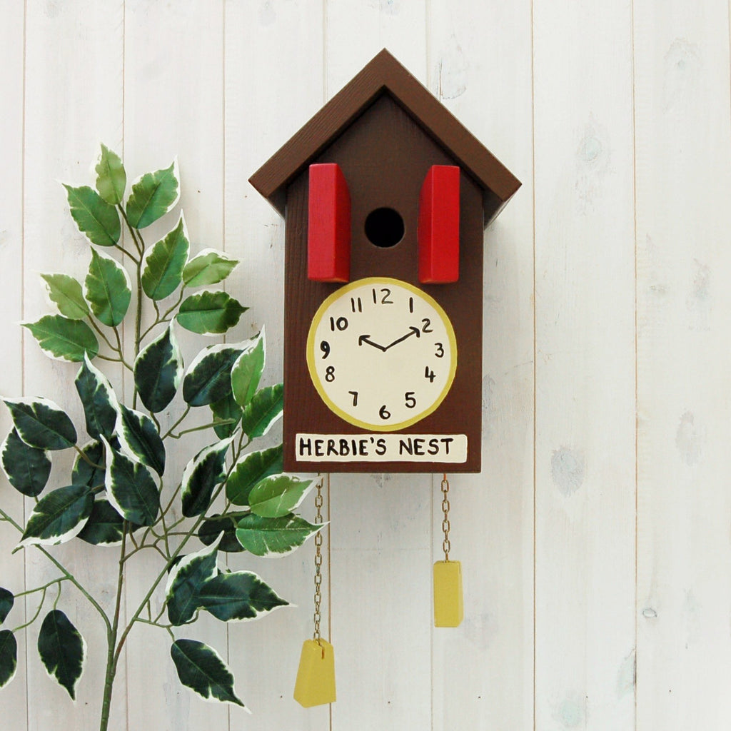 Personalised Cuckoo Clock Bird Box - Lindleywood