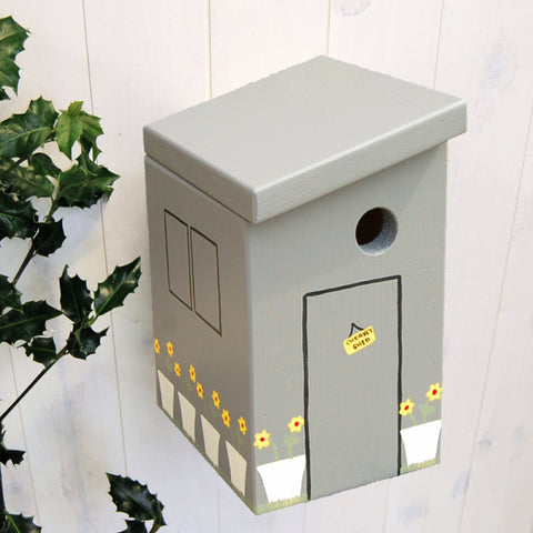 Personalised Fifty Sheds of Grey Bird Box - Lindleywood