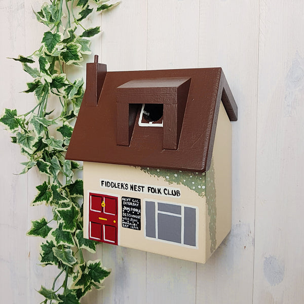 Personalised Folk Club Bird Box - Lindleywood