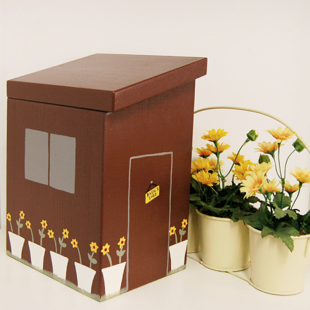 Personalised Garden Shed Keepsake Box