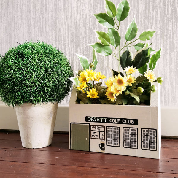 Personalised Golf Club Mini Planter - Lindleywood
