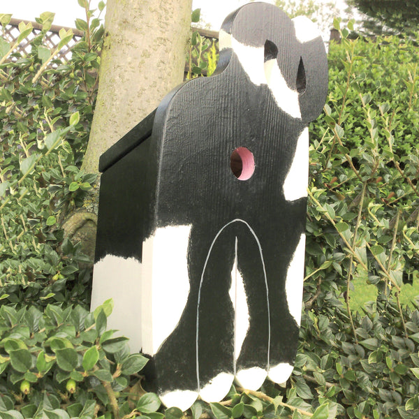 Handcrafted Cat's Bottom Bird Box - Lindleywood