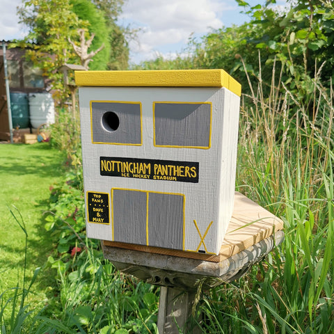 Personalised Ice Hockey Stadium Bird Box - Lindleywood
