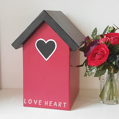 Personalised Love Heart Keepsake Box - Lindleywood