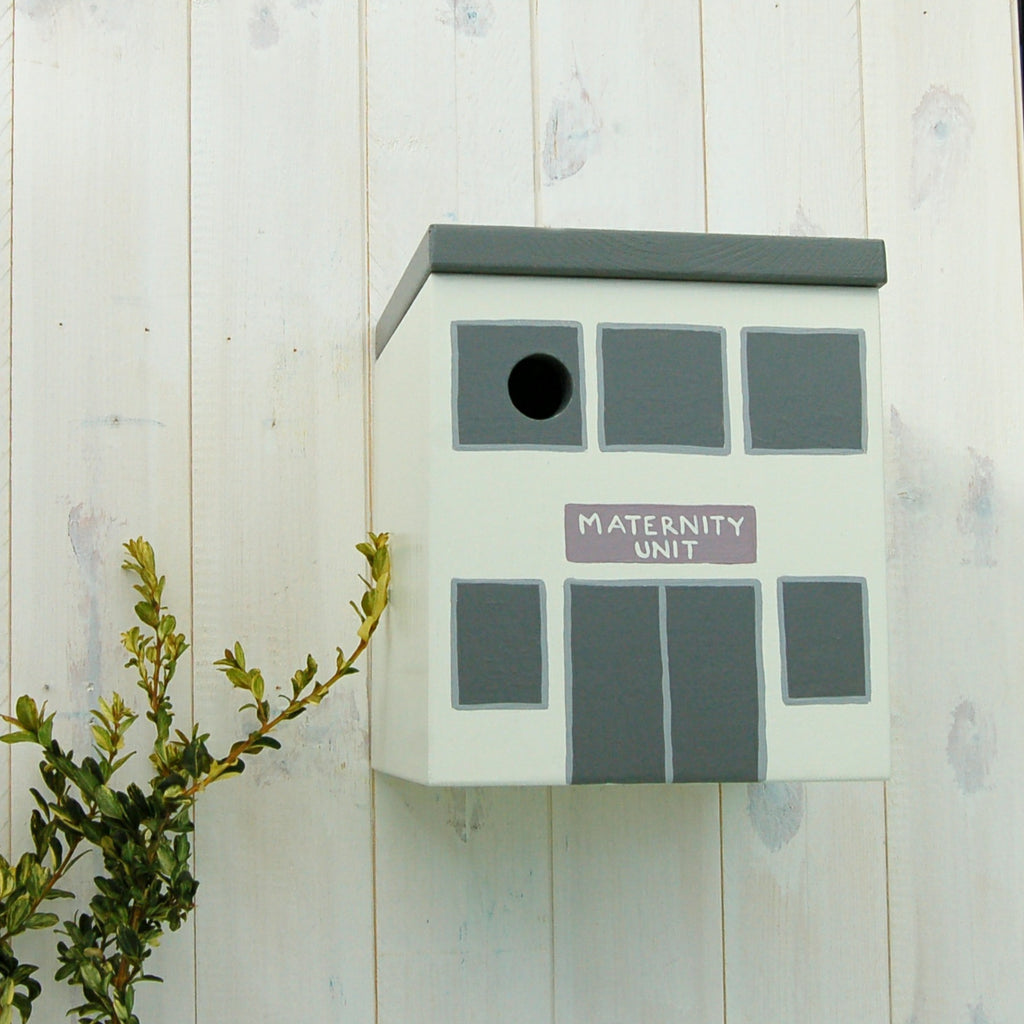 Personalised 'Maternity Unit' Bird Box - Lindleywood
