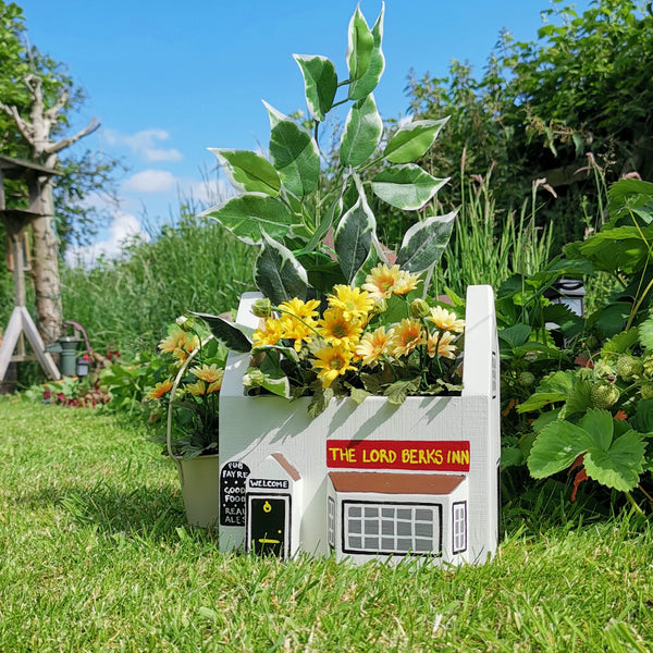 Personalised Pub Plant Holder - Lindleywood