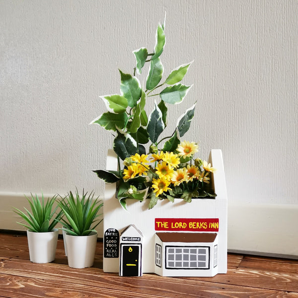 Personalised Pub Mini Planter - Lindleywood