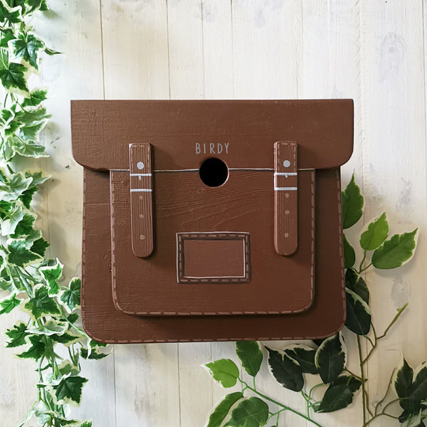 Personalised Satchel Bag Bird Box - Lindleywood
