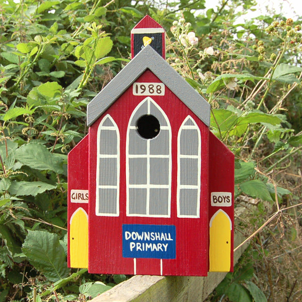 Personalised School Bird Box - Lindleywood