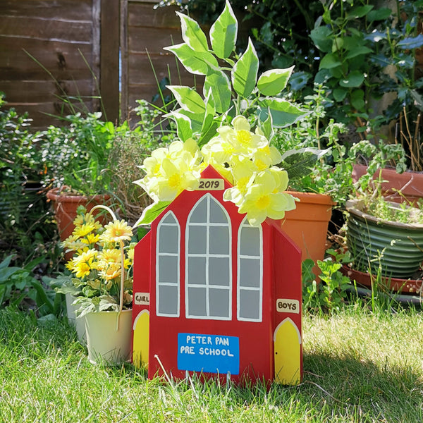 Personalised School Mini Planter - Lindleywood