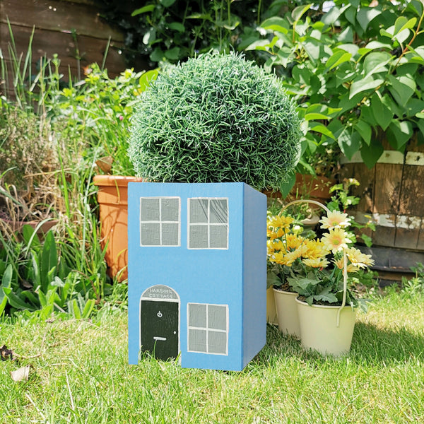 Personalised Seaside Cottage Mini Planter - Lindleywood