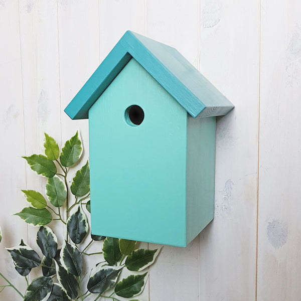 Simply Colour Bird Box - Canton and Turquoise Blue