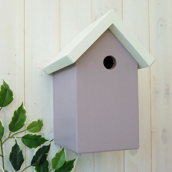 Simply Colour Bird Box - Grace White and Sea Heather